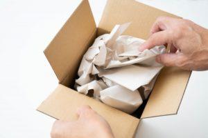 箱を開ける